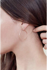 Colleen Mauer Square Hoop Earrings