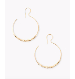 Chan Luu Eclipse Grande Hoop Earrings