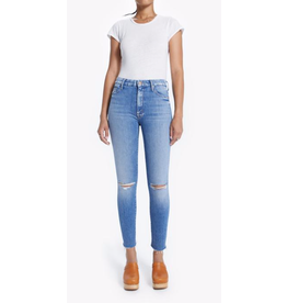 Mother High Waisted Looker Ankle Fray - Spice It Up