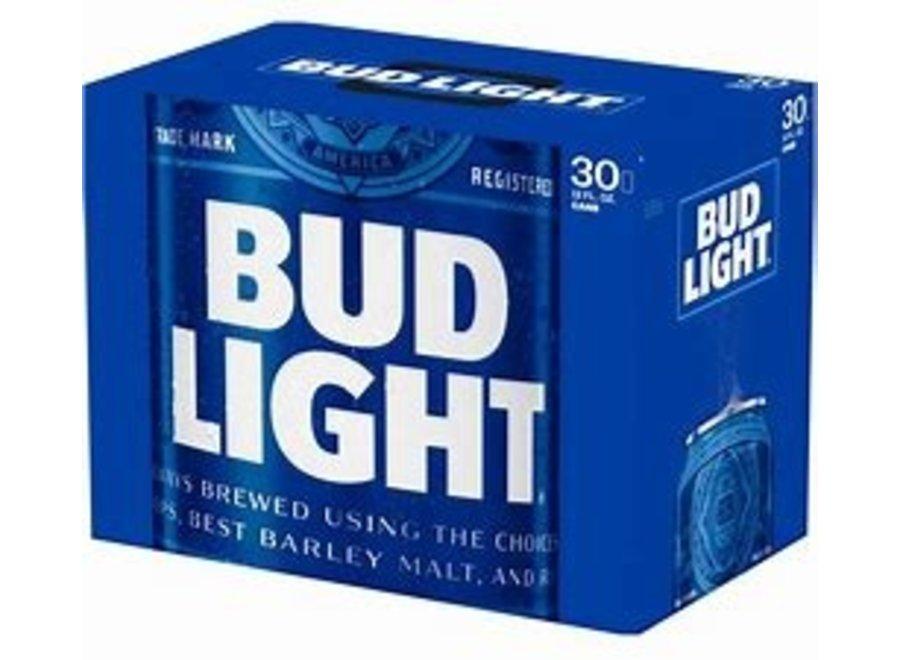 BUD LIGHT 30PK/12OZ CAN