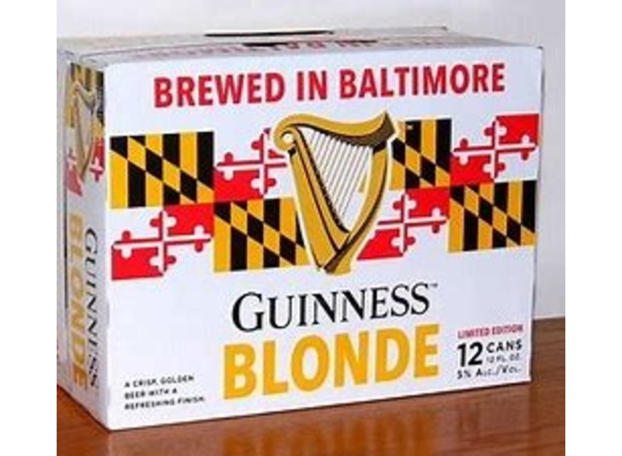 GUINNESS BLONDE ALE 12PK/12PK CAN