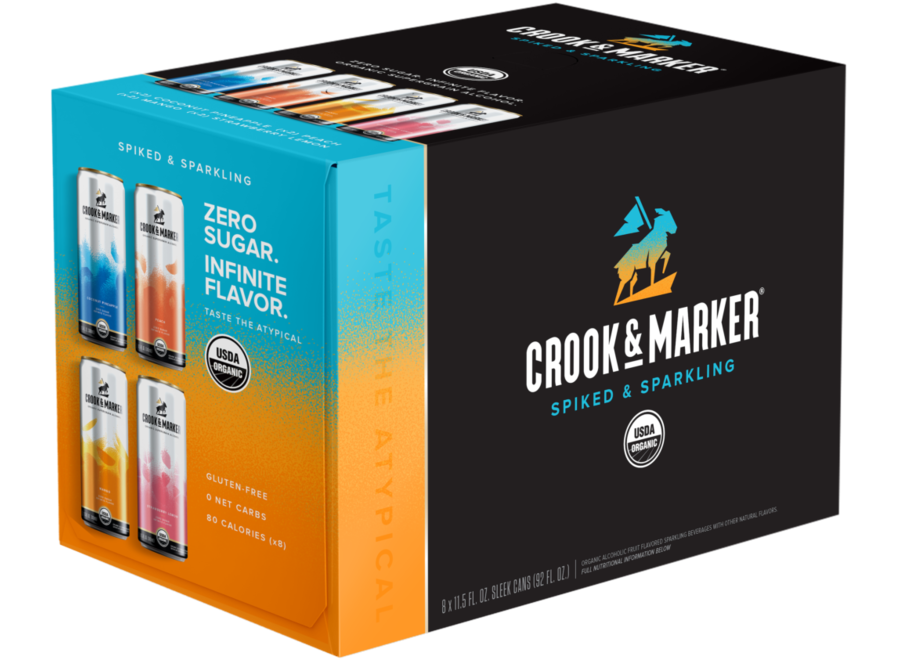 CROOK & MARKER BLUE VARIETY PACK 8PK/11.5OZ CAN