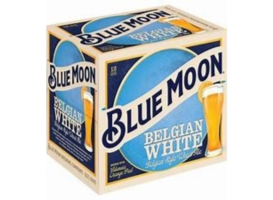 BLUE MOON BELGIAN WHITE 12PK/12OZ BOTTLE