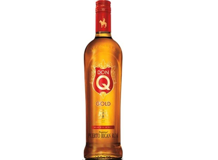 DON Q GOLD RUM 750ML