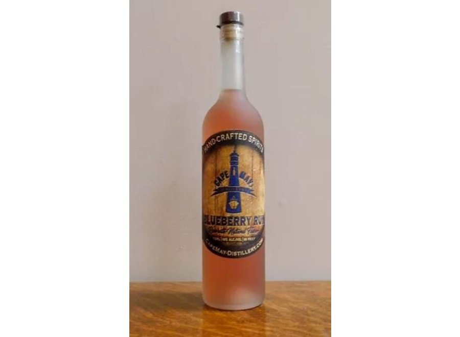 CAPE MAY DISTILLERY BLUEBERRY RUM 750ML