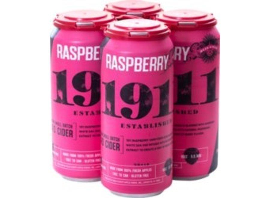 1911 RASPBERRY HARD CIDER 4PK/16OZ CAN