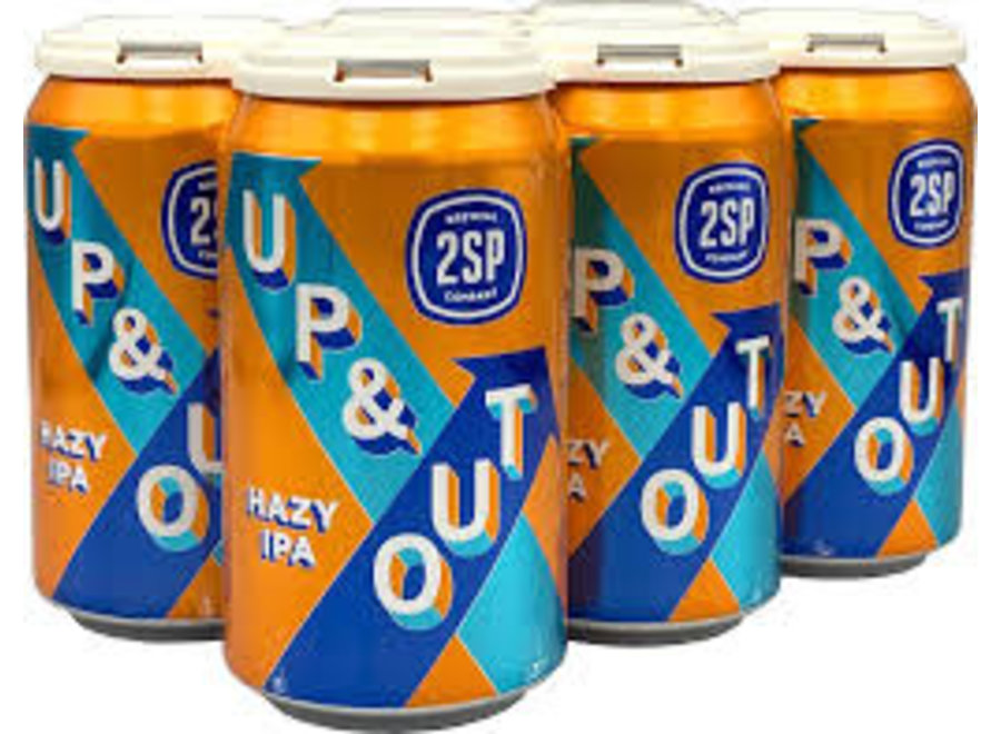 2SP UP & OUT HAZY IPA 6PK/12OZ CAN