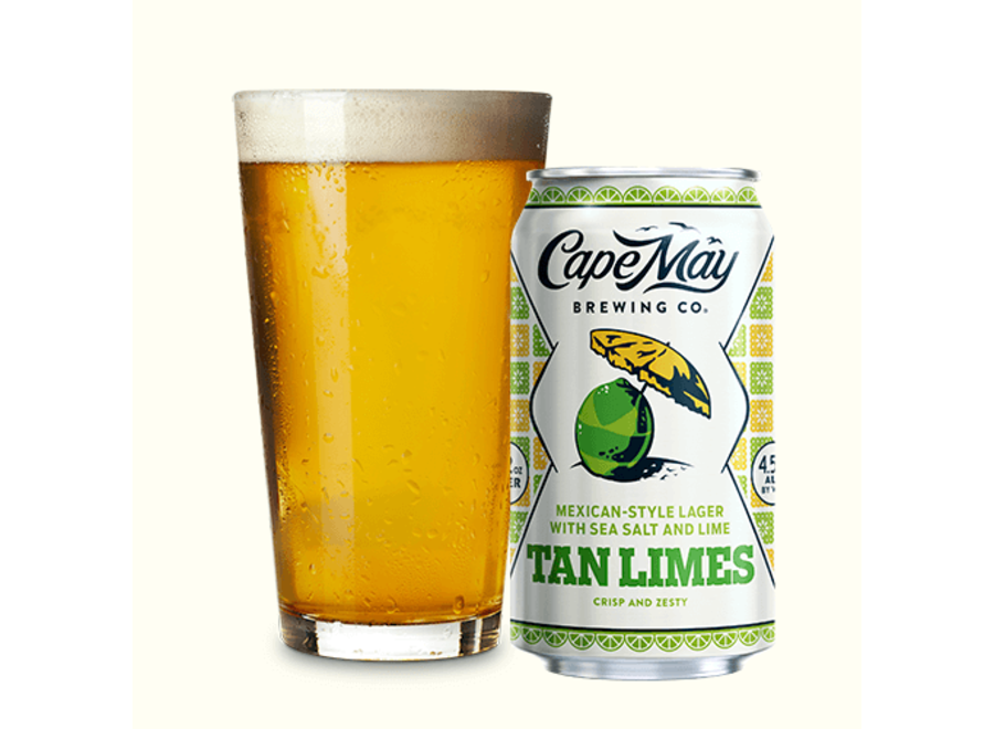 CAPE MAY TAN LIMES 6PK/12OZ CAN