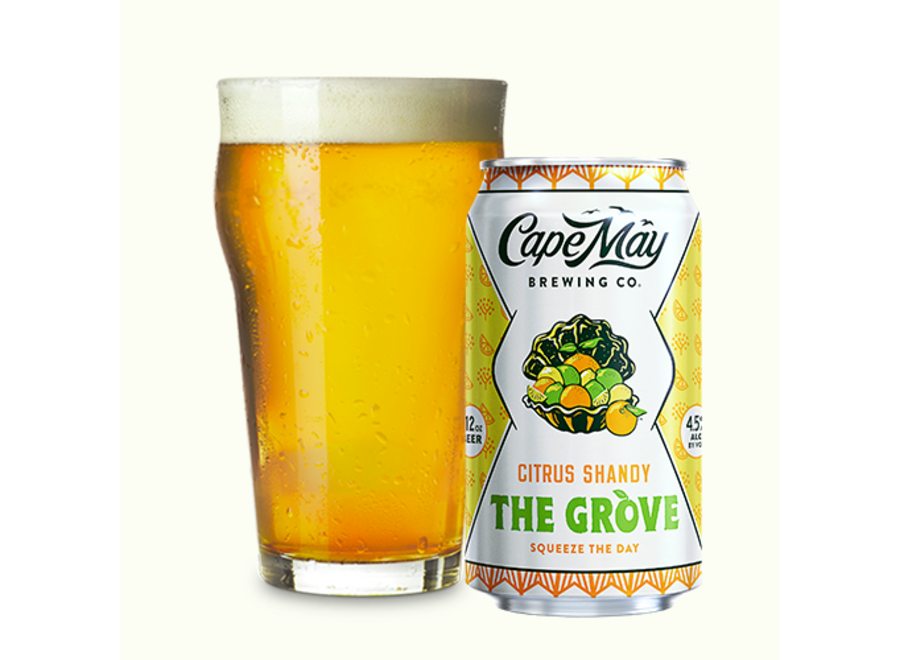 CAPE MAY THE GROVE CITRUS SHANDY 6PK/12OZ CAN