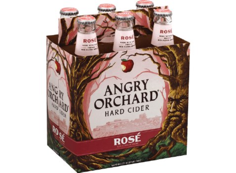 ANGRY ORCHARD ROSE 6PK/12OZ BOTTLE