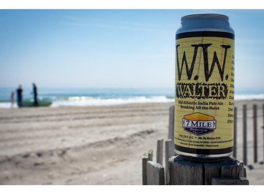 7 MILE WALTER WHITE IPA 4PK/16OZ CAN