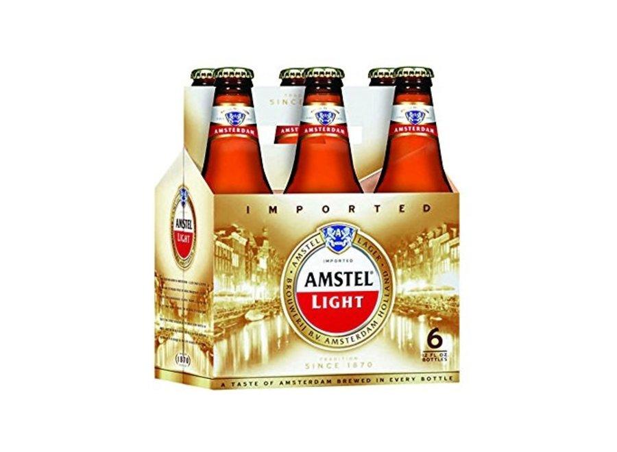 AMSTEL LIGHT 6PK/12OZ BOTTLE