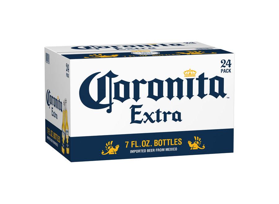 CORONA CORONITA EXTRA 24PK/7OZ BOTTLE