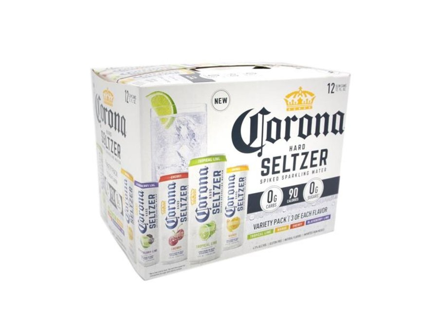 CORONA HARD SELTZER #1 VARIETY 12PK/12OZ CAN