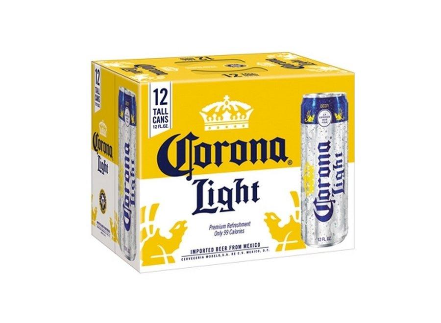 CORONA LIGHT 12PK/12OZ CAN