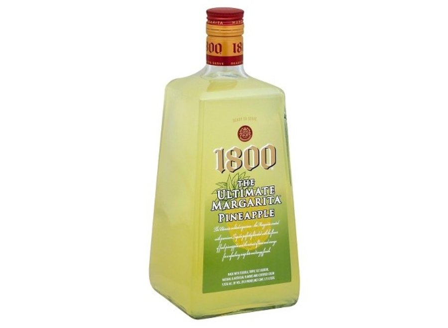 1800 PINEAPPLE MARGARITA 1.75L