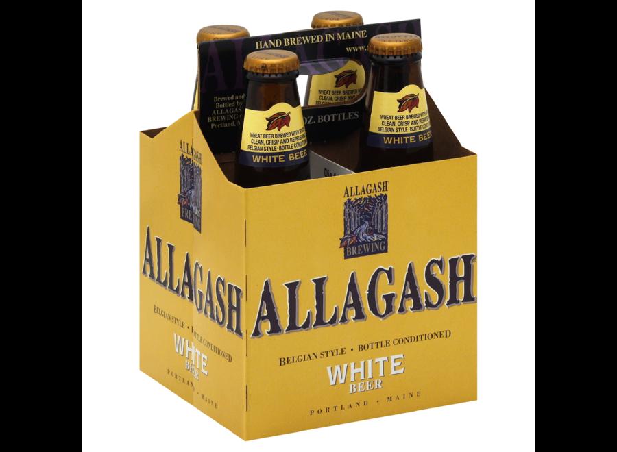 ALLAGASH WHITE BEER 4PK/12OZ