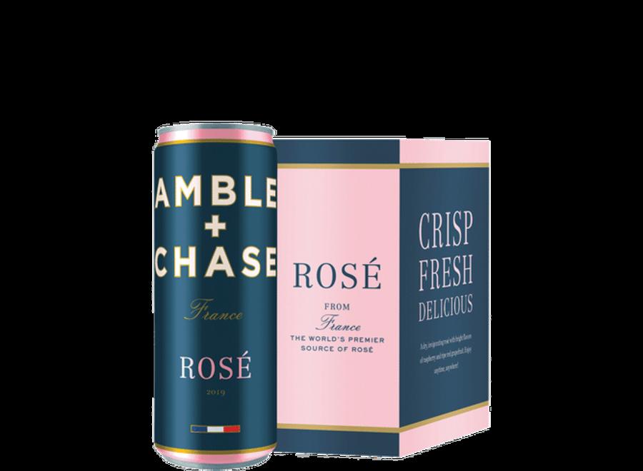 AMBLE + CHASE ROSE 4PK/ 250ML CAN
