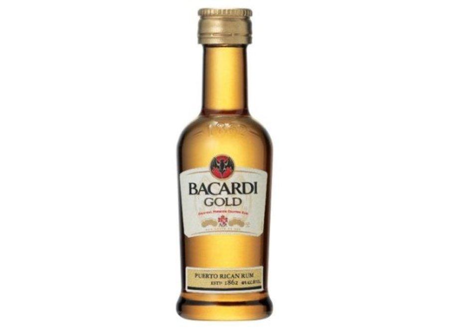 BACARDI GOLD RUM 50 ML