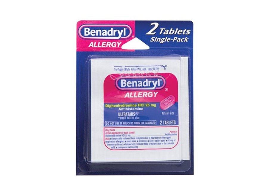 BENADRYL ALLERGY 1PK/2TABLET