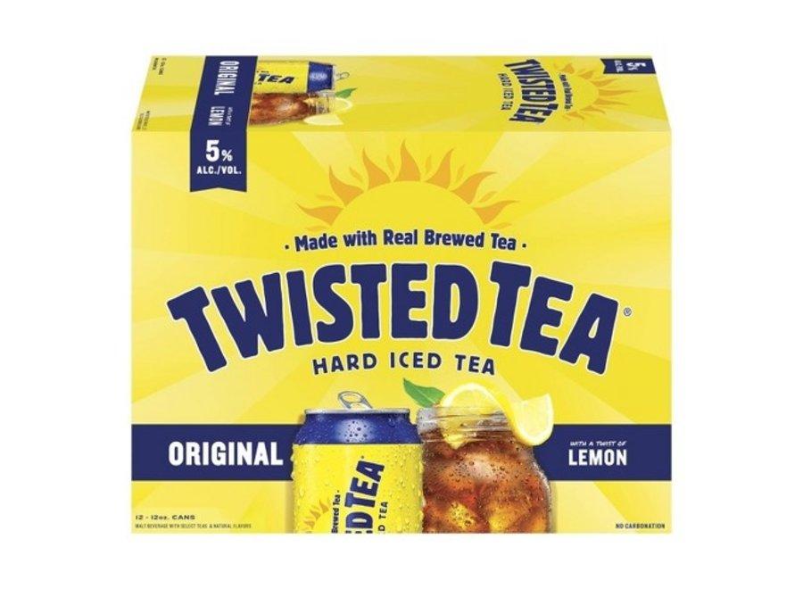 TWISTED TEA ORIGINAL 12PK/12OZ CAN