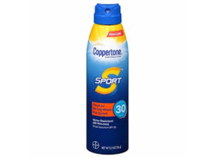 COPPERTONE SPF 30 SUN TAN LOTION 5.5OZ