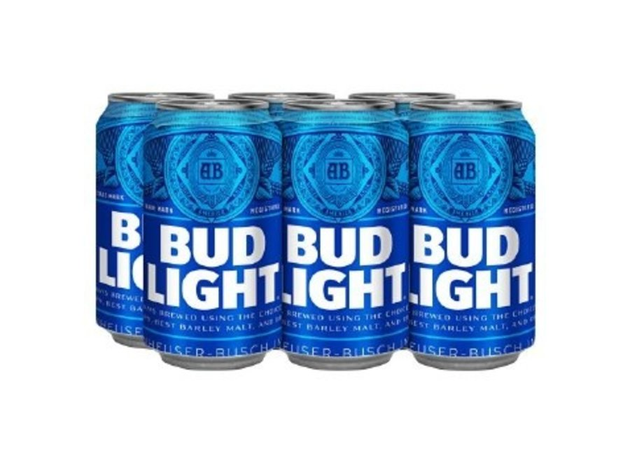 BUD LIGHT 6PK/12OZ CAN