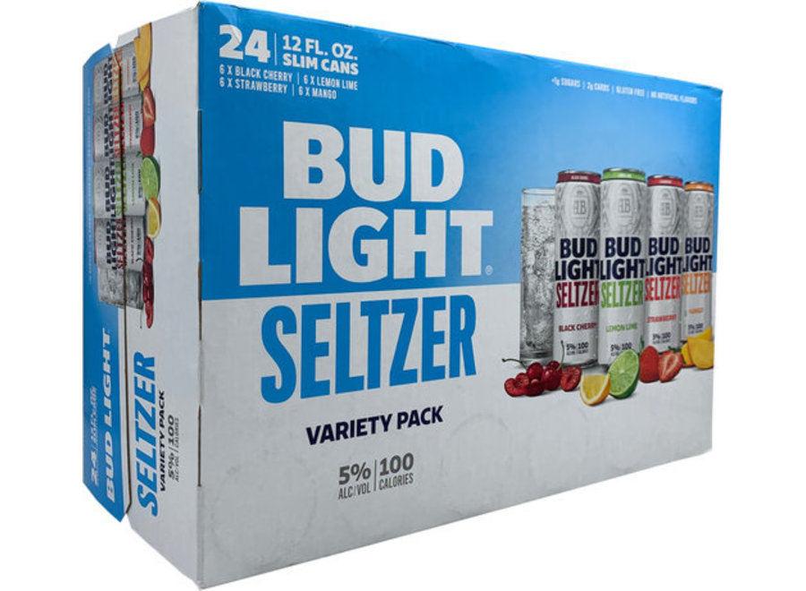 BUD LIGHT SELTZER VARIETY PACK 24PK/12OZ CAN