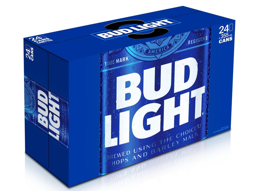 BUD LIGHT 24PK/12OZ CAN