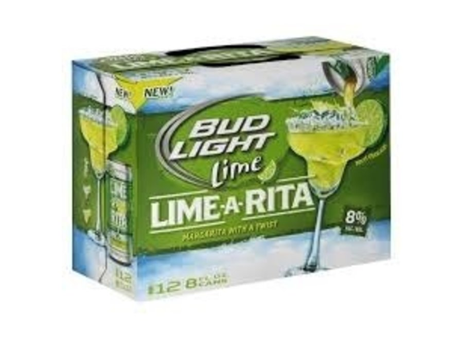 BUD LIGHT LIME-A-RITA 12PK/8OZ CAN