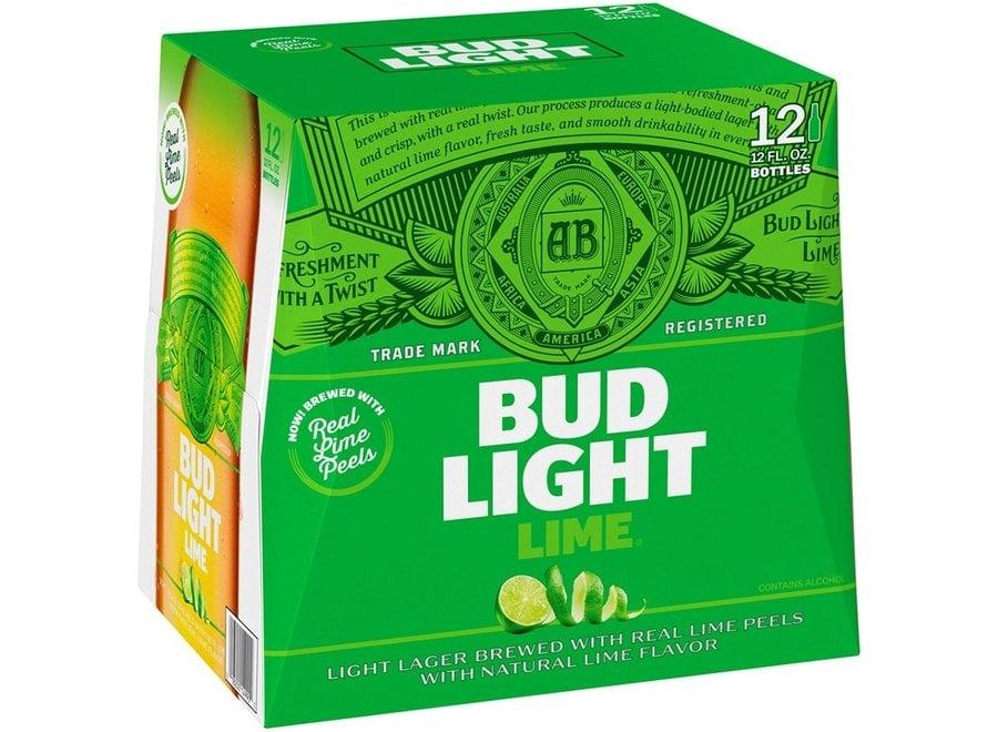 BUD LIGHT LIME 12PK/12OZ BOTTLE