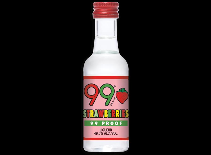 99 STRAWBERRIES VODKA 50ML