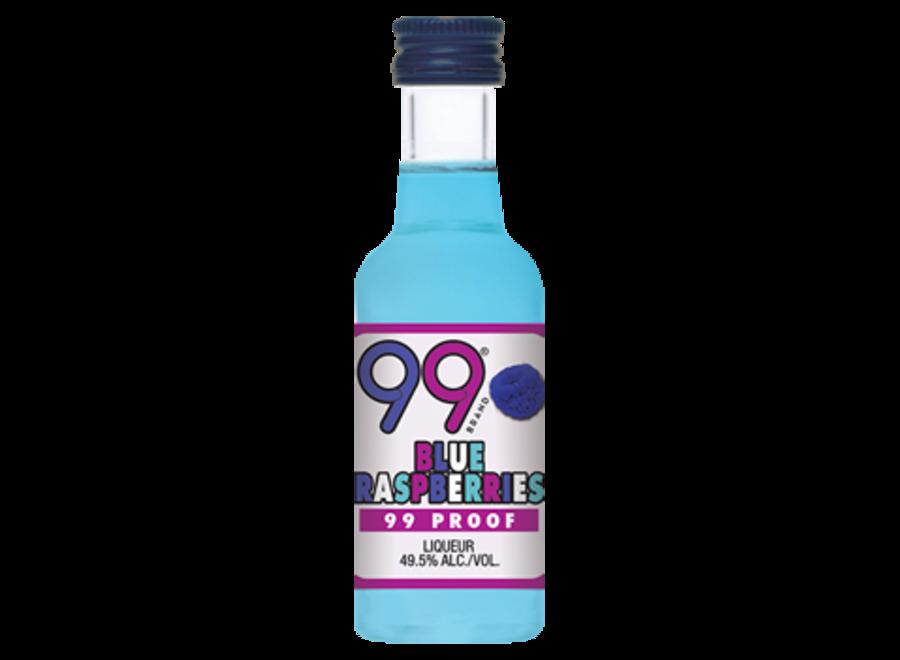 99 BLUE RASPBERRY VODKA 50ML