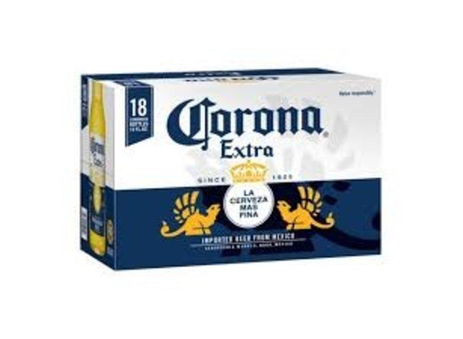 CORONA EXTRA 18PK/12OZ BOTTLE