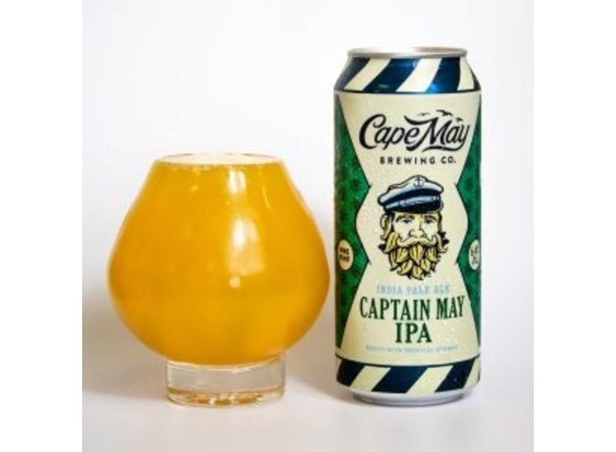 CAPE MAY CAPTAIN MAY IPA 4PK/16OZ CAN