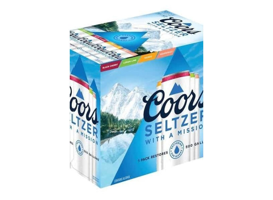 COORS SELTZER VARIETY PACK 12PK/12OZ CAN