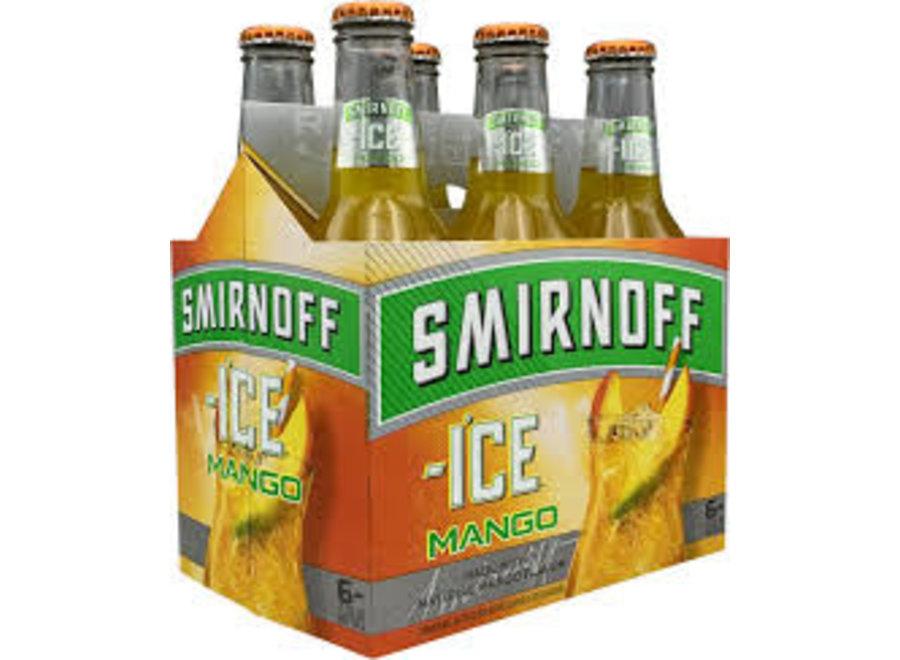 SMIRNOFF ICE MANGO 6PK/11.2OZ BOTTLE