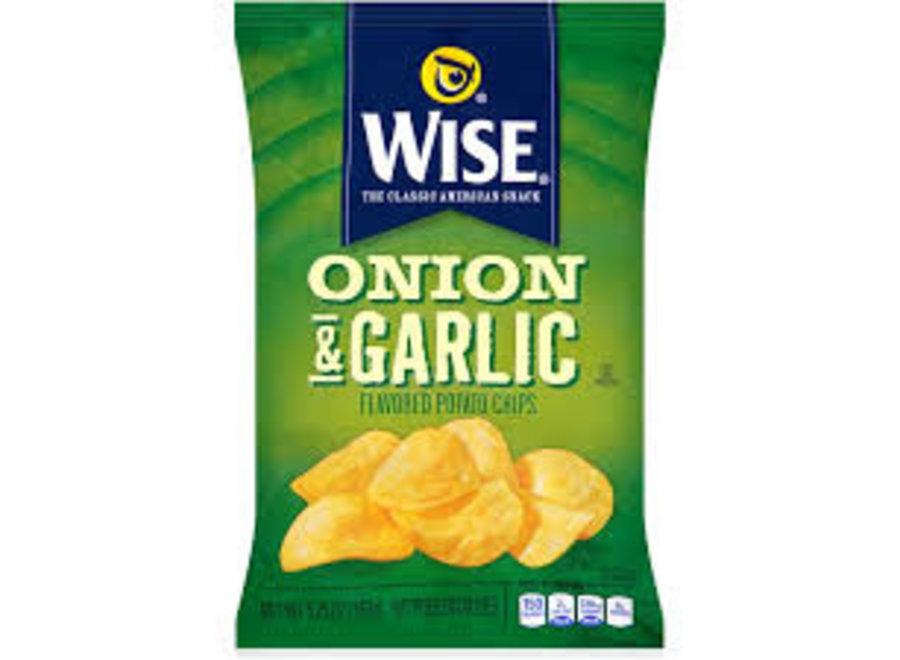 WISE ONION GARLIC CHIP 5.75OZ