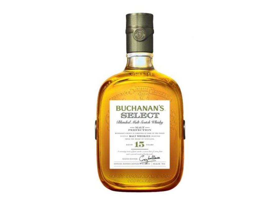 BUCHANAN'S 15YR SCOTCH WHISKEY