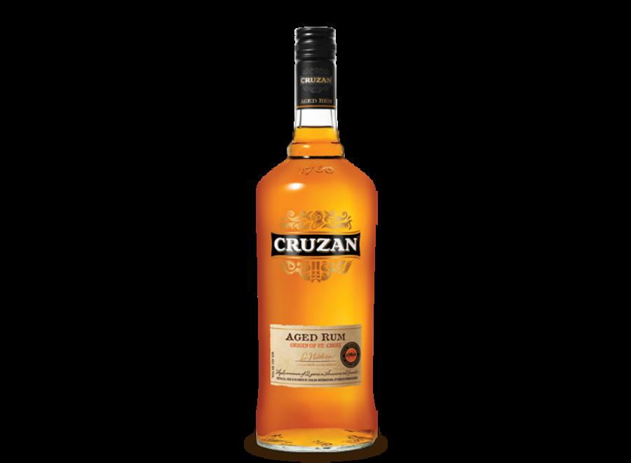 CRUZAN AGED GOLD RUM 750ML