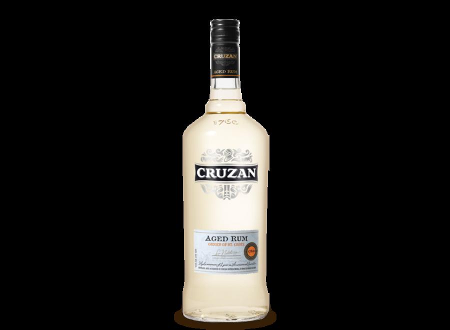 CRUZAN AGED SILVER RUM 750ML