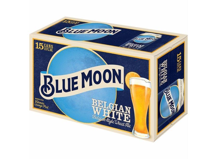 BLUE MOON BELGIAN WHITE 15PK/12OZ CAN