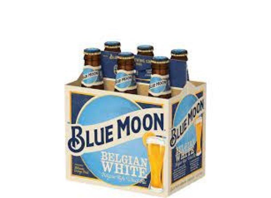 BLUE MOON BELGIAN WHITE 6PK/12OZ BOTTLE