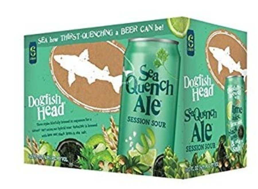 DOGFISH HEAD SEAQUENCH ALE 6PK/12OZ CAN