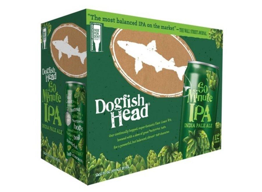 DOGFISH HEAD 60MIN IPA 12PK/12OZ CAN