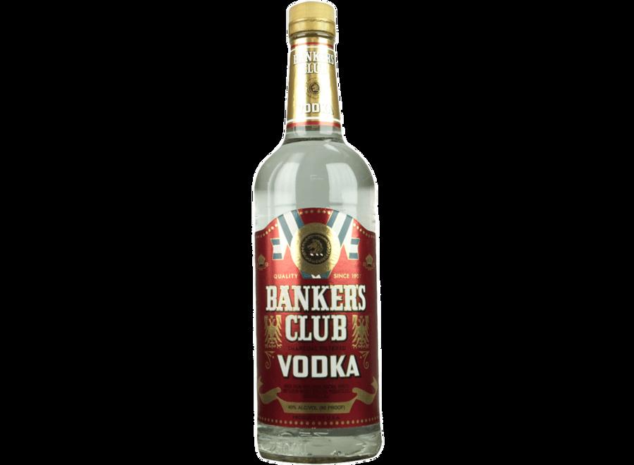BANKERS CLUB VODKA 750ML