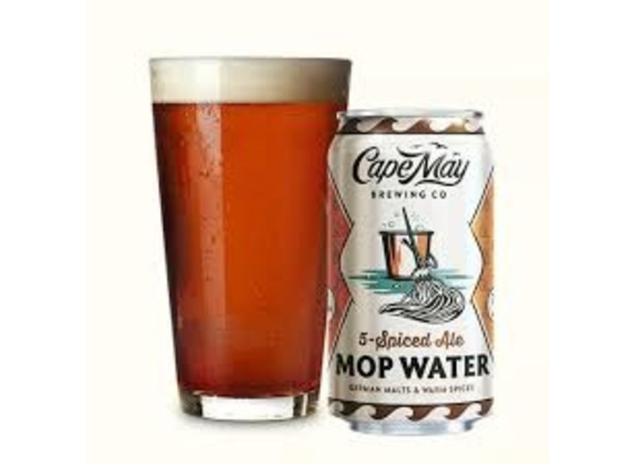 CAPE MAY MOP WATER SPICED ALE 6PK/12OZ CAN