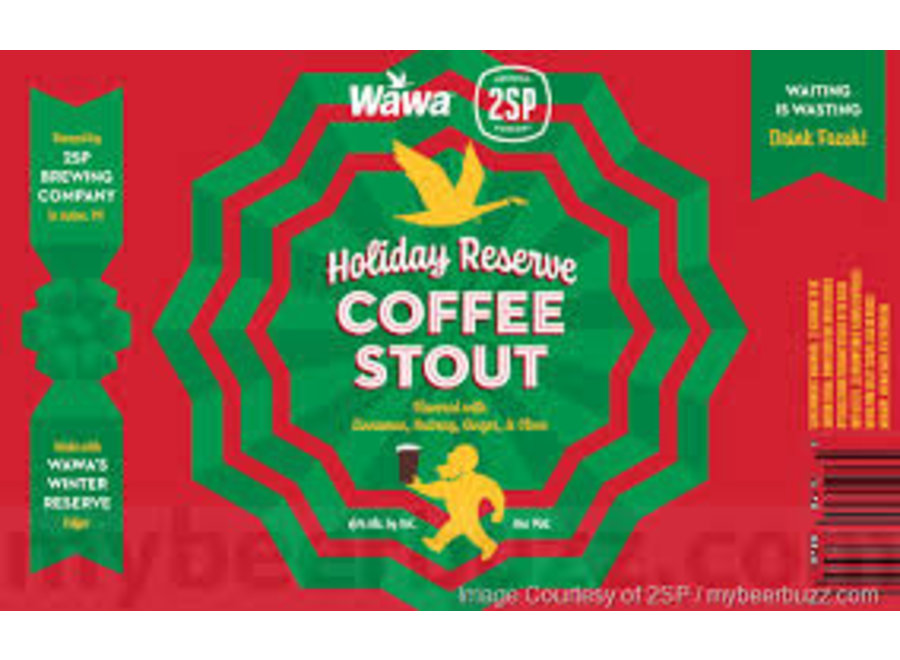 2SP WAWA HOLIDAY RESERVE COFFEE STOUT 4PK/16OZ CAN