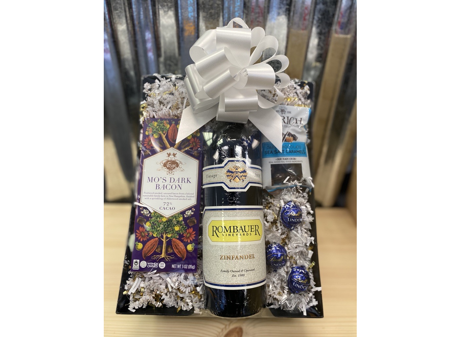 GIFT BASKET - IT'S EVEN BETTER WITH CHOCOLATE!