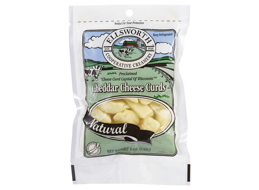 ELLSWORTH CHEDDAR CHEESE CURDS - NATURAL CHEESE